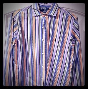 Mens Size Medium Polo dress shirt.